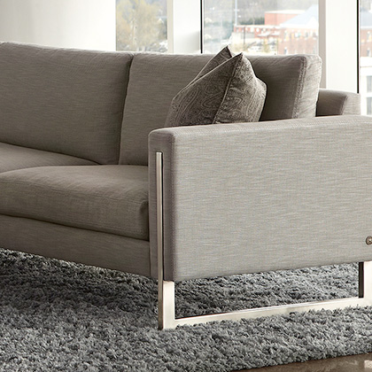 Contemporary Sofas and Loveseats