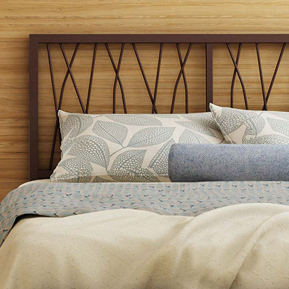 Contemporary Metal + Upholstered Headboards