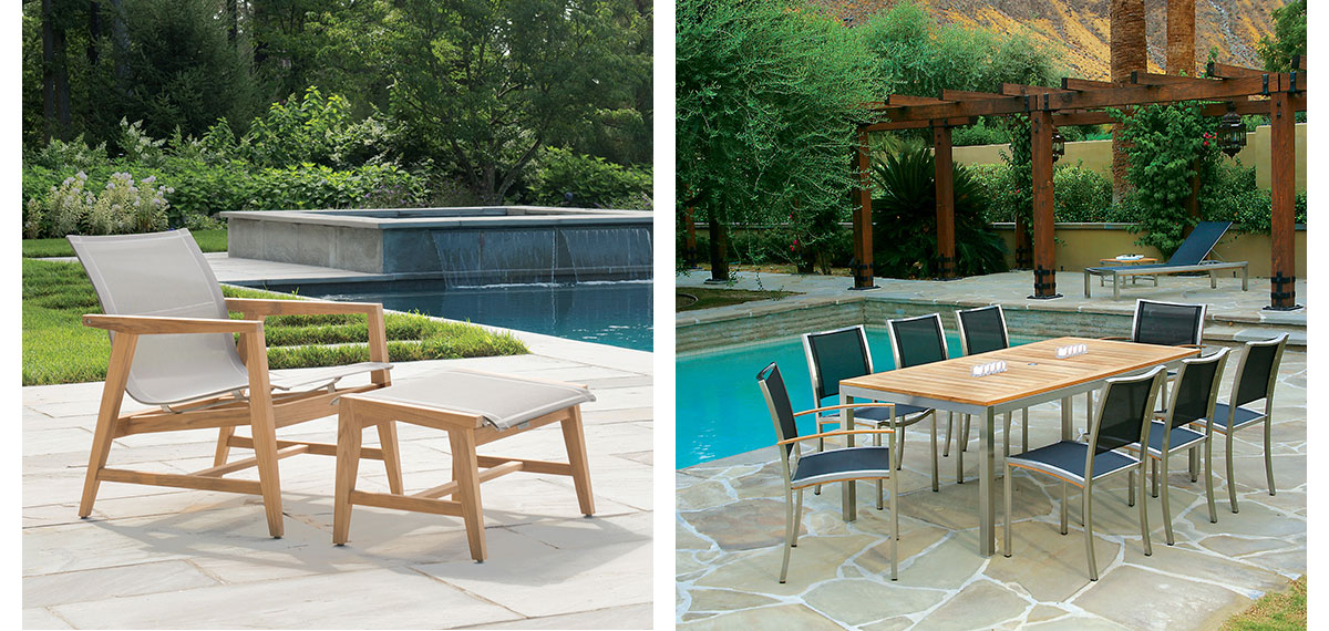 Kingsley-Bate Contemporary Outdoor Furniture