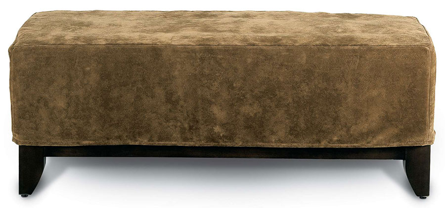 Brooklyn Slip Ottoman by Rowe Furniture