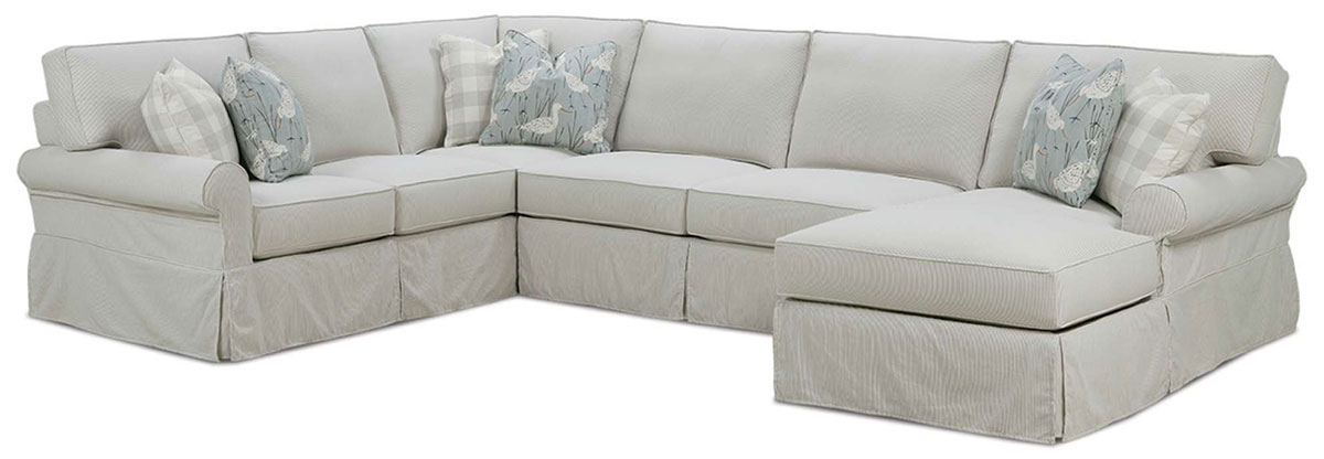 Easton Sectional Slipcover by Rowe Furniture