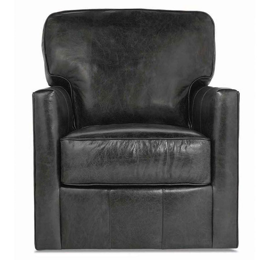 Evan Leather Chair by Rowe Furniture