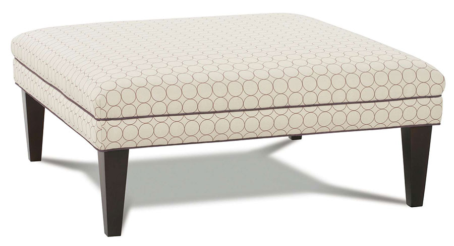 Griffin Ottoman by Rowe Furniture