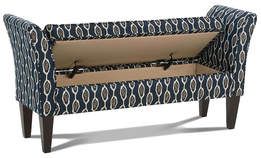 Haslett Ottoman by Rowe Furniture