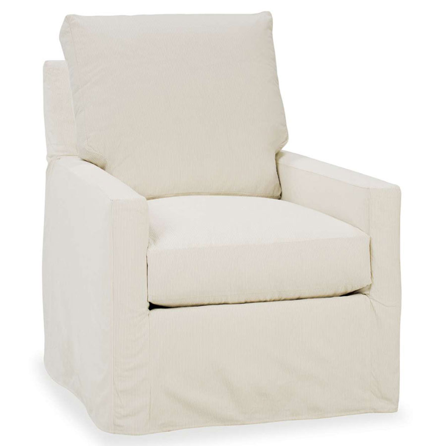 ... Norah Chair Slipcover By Rowe Furniture