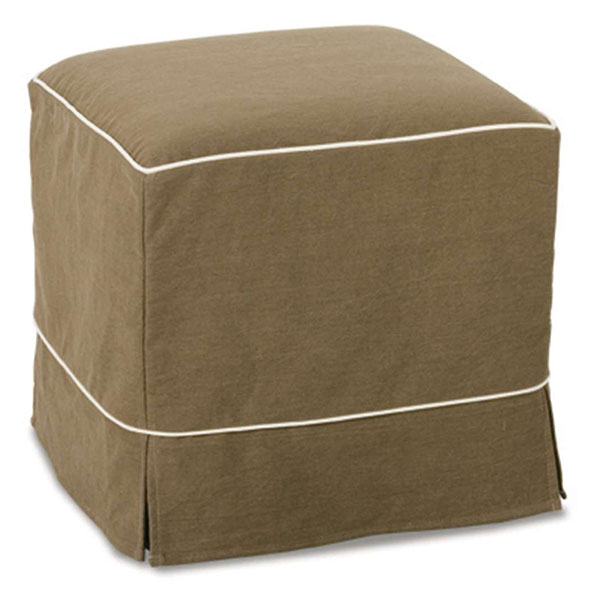 Parker Ottoman Slipcover by Rowe Furniture
