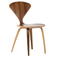 Satine Walnut Contemporary Chair