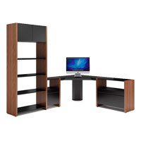 Semblance Contemporary Associate Corner Desk Set