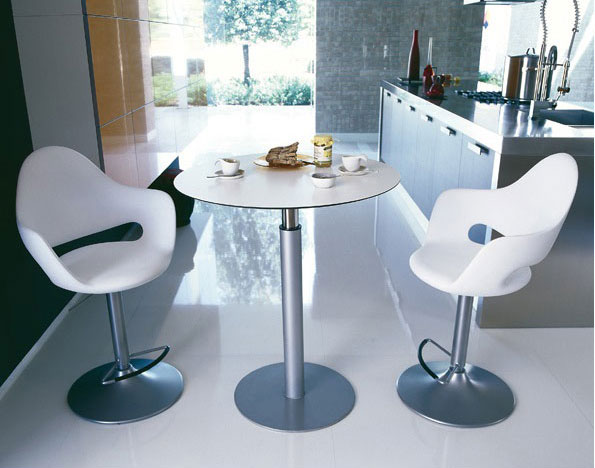 Soft SG Contemporary Adjustable Stool