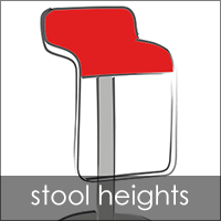 Modern Stool Heights