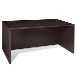 2000 Collection Contemporary 63 Inch Espresso Desk