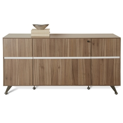 300 Collection Credenza in Walnut