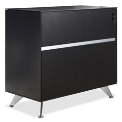 300 Collection Modern Espresso Lateral File Cabinet