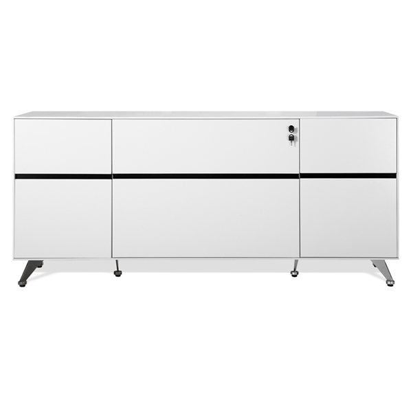 400 Collection Credenza in White