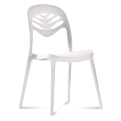 4U2 White Modern Dining Chair