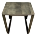 Ace Modern Rectangular Nantucket Cocktail Table by Saloom - End View