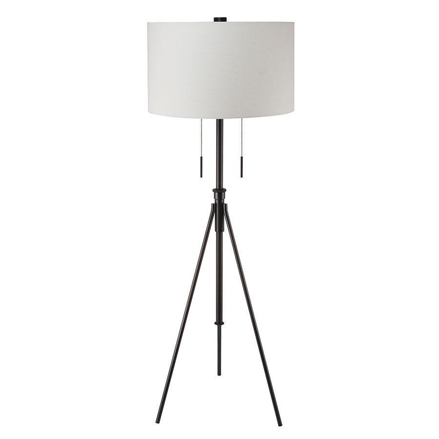 Addy Bronze Contemporary Floor Lamp