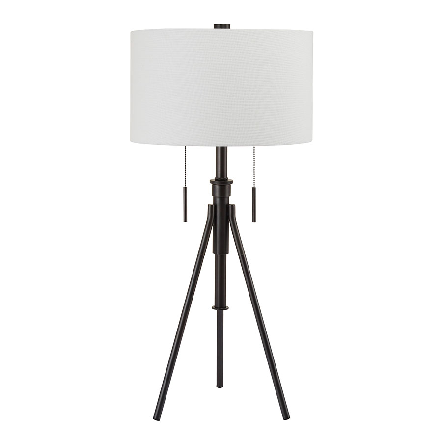 Addy Bronze Contemporary Table Lamp