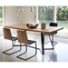 Adena Walnut Contemporary Dining Table