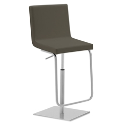 Afro-Sg Adjustable Bar Stool in Grey by Domitalia