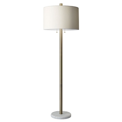 Contemporary modern floor lamps collectic home alda contemporary floor lamp mozeypictures Images