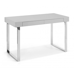 Alec Contemporary Taupe Desk