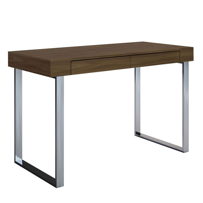 Alec Contemporary Walnut Desk