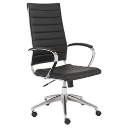 Axel Modern High Back Black Office Chair