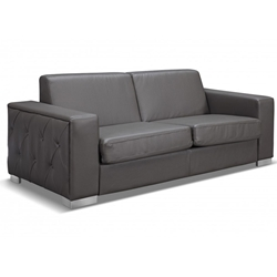 Allison Contemporary Gray Sleeper Sofa