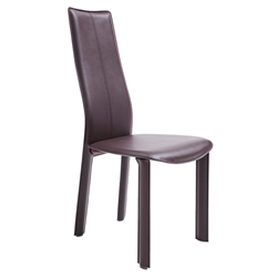 Allisone Brown Modern Dining Chair