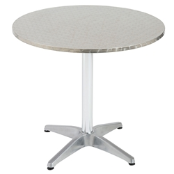 Allan 31.5 In. Diameter Outdoor Dining Table
