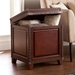 Ambrose Trunk Contemporary End Table Room Open