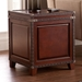 Ambrose Trunk Contemporary End Table Room