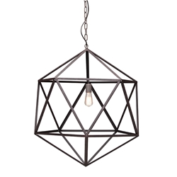 Amethyst Large Contemporary Hanging Lamp