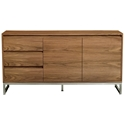 Annex Contemporary Cabinet in Walnut by Gus Modern