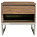 Annex Contemporary End Table in Walnut by Gus Modern