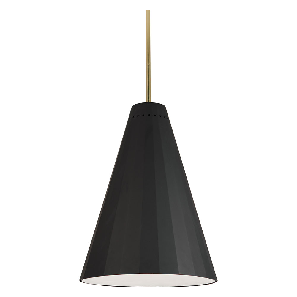 Antwerp Contemporary Pendant Lamp in Black