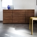 Arden Walnut Contemporary Sideboard