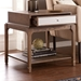 Ariel Contemporary End Table Room Open