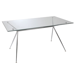 Atos Modern 60 Inch Dining Table