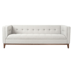 Atwood Contemporary Sofa in Oxford Quartz by Gus* Modern