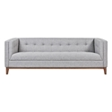 Atwood Contemporary Sofa in Parliament Stone by Gus* Modern