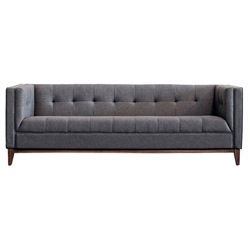 Atwood Contemporary Sofa in Totem Storm by Gus* Modern