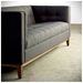 Atwood Contemporary Sofa in Urban Tweed Ink - Lifestyle