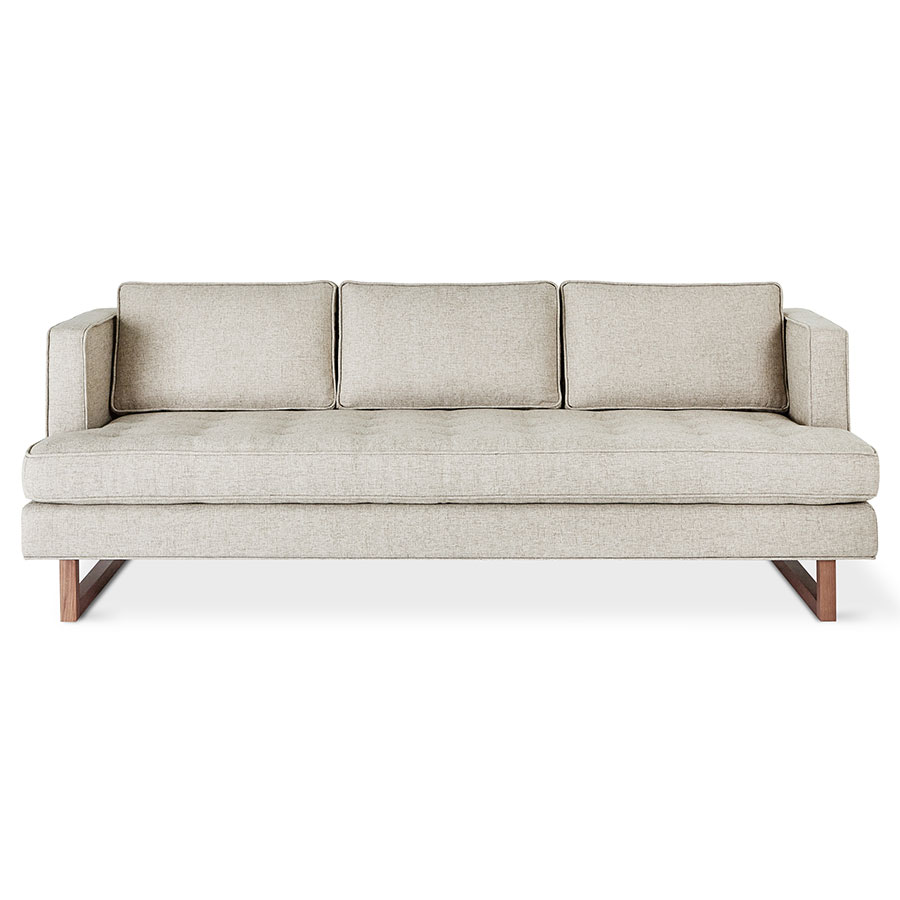 Aubrey Contemporary Sofa in Leaside Driftwood By Gus* Modern