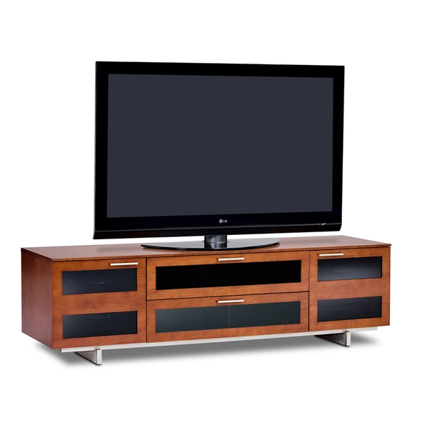 Avion Wide TV Stand in Cherry