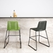 Modloft Barclay Green Rope + Steel Modern Indoor + Outdoor Counter Stool - Room Setting