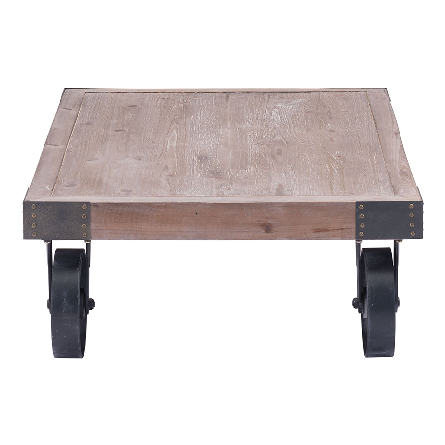 Barnaby Rolling Modern Coffee Table Collectic Home