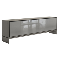 Modloft Barnes Modern Sideboard in Acier Gray Wood