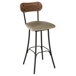 Bean Contemporary Bar Stool by Amisco
